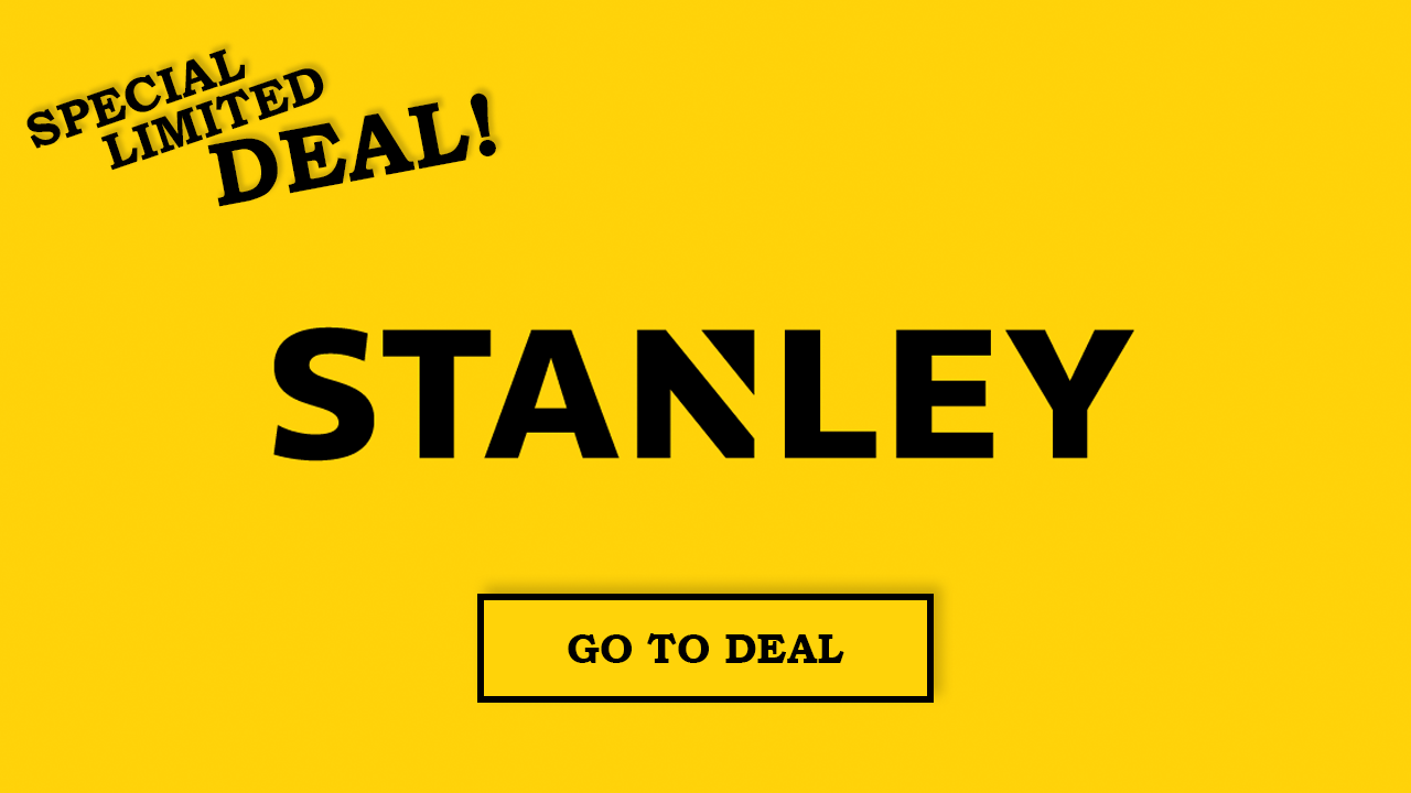 stanley tools offer